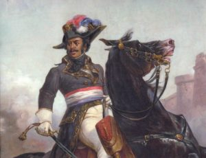 Alexandre Dumas as a military man.
