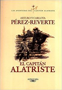 El Capitan Alatriste book that was published on 1996