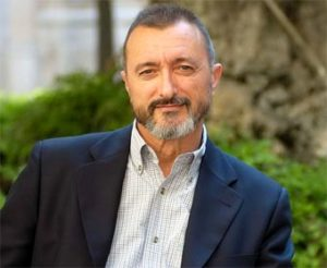 Arturo Perez-Reverte, Captain Alatriste novel author.