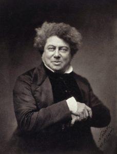 The famous historian Alexandre Dumas