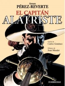Cover of the book with the character in the series.